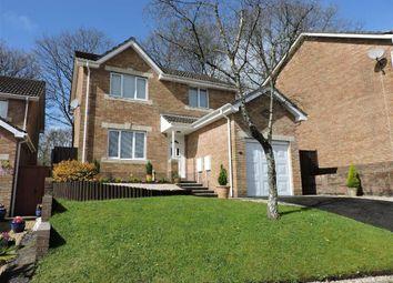 Thumbnail 4 bed detached house for sale in Maes Y Cornel, Rhos, Pontardawe, Swansea