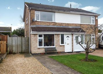 Thumbnail 3 bed semi-detached house for sale in Warwick Road, Broughton Astley, Leicester
