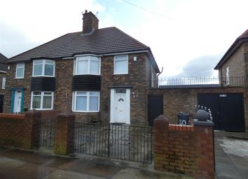 Thumbnail 3 bed semi-detached house to rent in Stockbridge Lane, Huyton, Liverpool