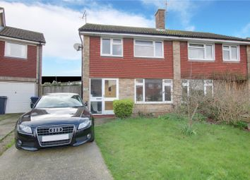 Thumbnail 3 bed semi-detached house for sale in Castle Road, Worthing, West Sussex