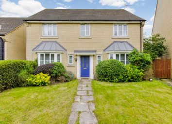 Thumbnail 4 bed detached house for sale in Hummingbird Close, Bury St. Edmunds