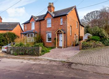 Thumbnail 3 bed semi-detached house for sale in Hill View, Heath End, Newbury, Hampshire