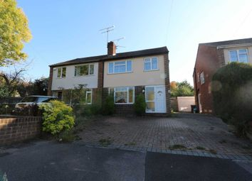 Thumbnail 4 bed semi-detached house to rent in Henley Wood Road, Earley, Reading