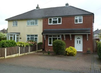 Thumbnail 3 bed semi-detached house to rent in Bitterscote Lane, Tamworth