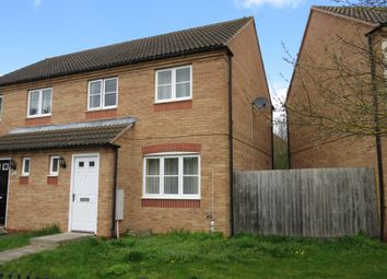 Thumbnail 3 bed semi-detached house for sale in Sharnbrook Avenue, Hampton Vale, Peterborough