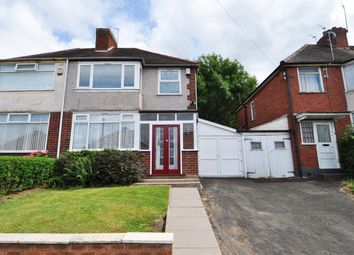 Thumbnail 3 bedroom semi-detached house to rent in Bellwood Road, Northfield, Birmingham