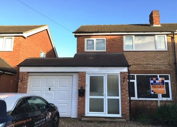 Thumbnail 3 bed property to rent in Rowan Close, Lichfield