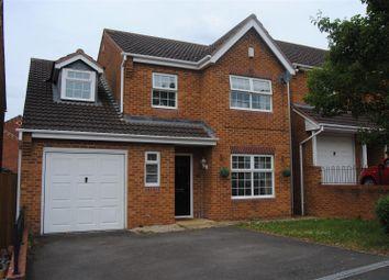 Thumbnail 4 bedroom detached house for sale in Warrener Close, Abbey Fields, Swindon