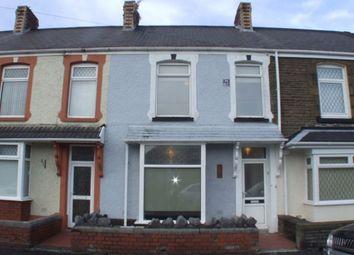 Thumbnail 3 bedroom terraced house to rent in Fern Street, Cwmbwrla, Swansea