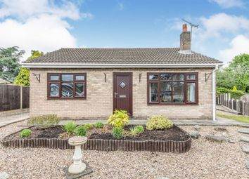 Thumbnail 3 bedroom detached bungalow for sale in Mayfair Close, Harworth, Doncaster