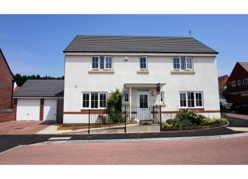 Thumbnail 4 bed detached house for sale in Lambourne Close, Evesham