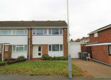 Thumbnail 3 bed property to rent in Leyhill Drive, Luton