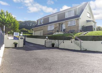 Thumbnail 5 bed detached house for sale in Knowle Gardens, Combe Martin, Ilfracombe