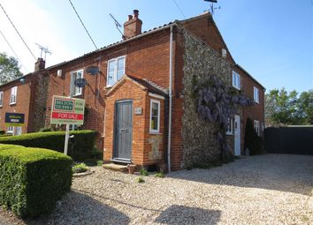 Thumbnail 3 bed property for sale in Mill Road, Bintree, Dereham
