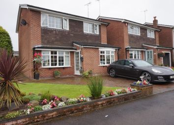 Thumbnail 3 bed detached house for sale in Kingfisher Crescent, Stoke-On-Trent