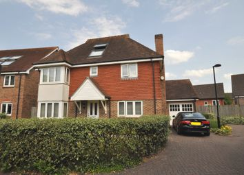 Thumbnail 4 bed detached house for sale in Michael Lane, Guildford
