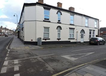 Thumbnail 1 bed flat for sale in 134 West Street, Crewe, Cheshire