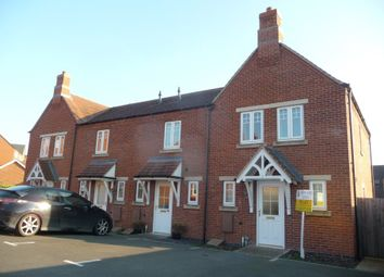 Thumbnail 3 bed town house to rent in St Andrews Court, Church Gresley, Derbyshire