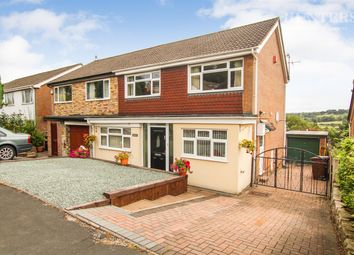 Thumbnail 3 bedroom semi-detached house for sale in Woodstone Avenue, Endon