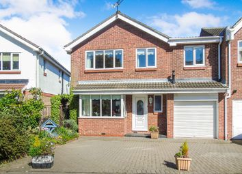 Thumbnail 5 bed detached house for sale in Brock Farm Court, North Shields