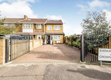 Thumbnail 4 bed end terrace house for sale in Avenue Terrace, Crownfield Avenue, Ilford