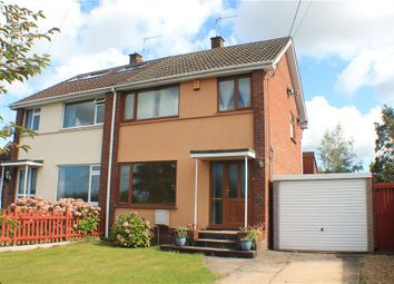 Thumbnail 3 bed semi-detached house for sale in Claverham, North Somerset