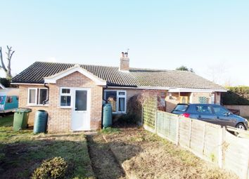 Thumbnail 2 bed semi-detached bungalow for sale in Woodside Close, Attleborough