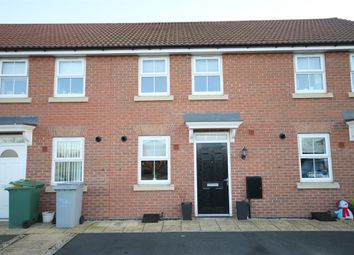 Thumbnail 2 bed terraced house for sale in Hunters Road, Fernwood, Newark, Nottinghamshire.