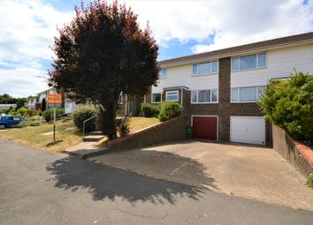 Thumbnail 3 bed semi-detached house for sale in Enbrook Valley, Cheriton, Folkestone, Kent