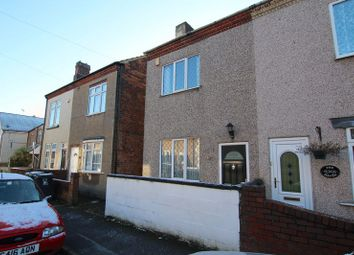 Thumbnail 2 bed semi-detached house to rent in Cemetery Road, Leabrooks, Alfreton