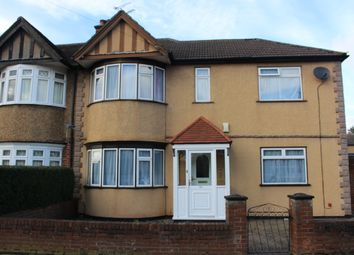 Thumbnail 4 bed end terrace house to rent in Dartmouth Road, Ruislip