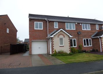 Thumbnail 4 bed semi-detached house to rent in Skeldale Grove, Darlington