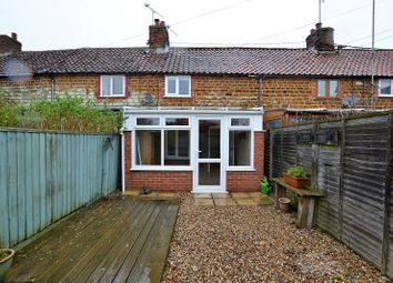 Thumbnail 2 bedroom terraced house for sale in Victoria Cottages, Heacham, Kings Lynn, Norfolk.