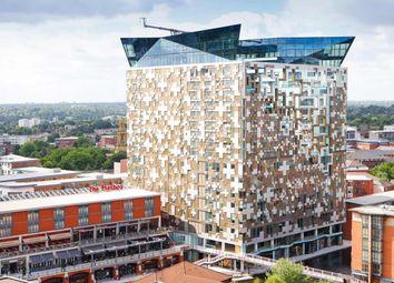 Thumbnail 1 bed flat to rent in Wharfside Street, Birmingham