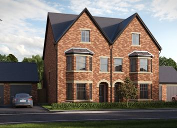 Thumbnail 4 bedroom town house for sale in Usk Field, Llanishen, Cardiff