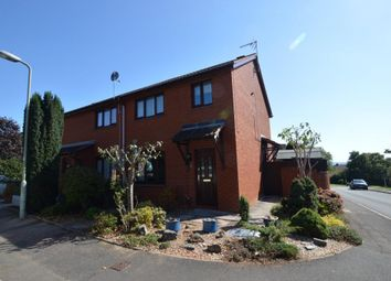 Thumbnail 3 bed end terrace house to rent in Ilex Close, Pinwood Meadow, Exeter, Devon