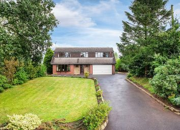Thumbnail 4 bed detached house for sale in Harriseahead Lane, Harriseahead, Staffordshire