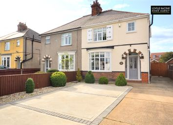 Thumbnail 3 bed semi-detached house for sale in Yarborough Road, Grimsby