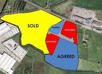 Thumbnail Land for sale in Craigarogan Business Park, 660 Antrim Road, Mallusk, Newtownabbey, County Antrim