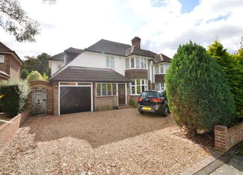 Thumbnail 4 bed semi-detached house for sale in Shelvers Way, Tadworth