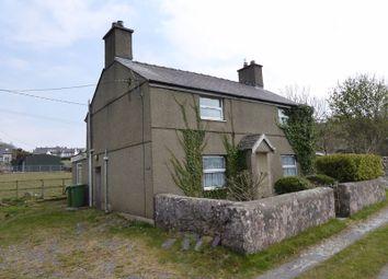 Thumbnail 3 bed detached house for sale in Carmel, Caernarfon