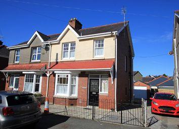 Thumbnail Semi-detached house to rent in Myrddin Crescent, Carmarthen, Carmarthenshire