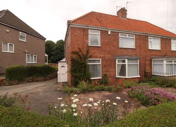 Thumbnail 2 bedroom semi-detached house for sale in Woodside Avenue, Throckley, Newcastle Upon Tyne