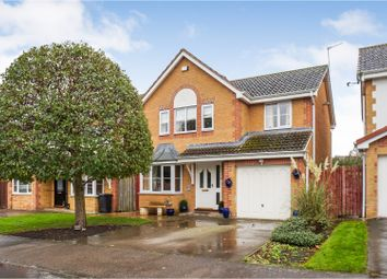 Thumbnail 4 bed detached house for sale in Lupin Close, Bishop Auckland