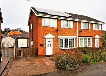 Thumbnail 3 bed semi-detached house for sale in Guildford Avenue, Mansfield