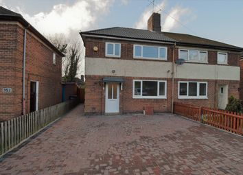 Thumbnail 3 bed semi-detached house for sale in Victoria Road East, Northifields, Leicester