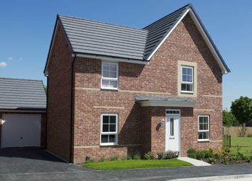 "Thumbnail 4 bed detached house for sale in ""Lincoln"" at Warkton Lane, Barton Seagrave, Kettering"