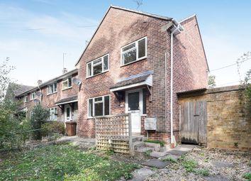 Thumbnail 3 bed end terrace house for sale in Shute Avenue, Watchfield, Swindon
