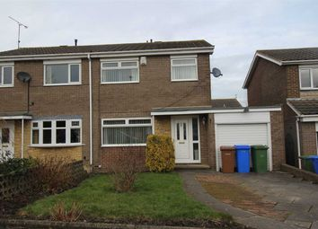 Thumbnail 3 bed semi-detached house for sale in Totnes Drive, Parkside Grange, Cramlington