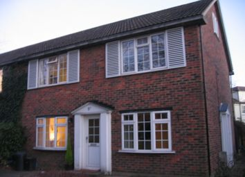 Thumbnail 2 bedroom maisonette to rent in Uplands Park Road, Enfield